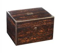 VERY FINE CALAMANDER WOOD VANITY BOX at Ross's Auctions