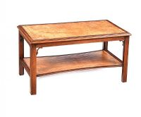 MAHOGANY COFFEE TABLE at Ross's Auctions
