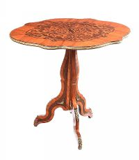 ANTIQUE INLAID ROSEWOOD LAMP TABLE at Ross's Auctions
