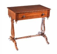 VICTORIAN MAHOGANY LAMP TABLE at Ross's Auctions