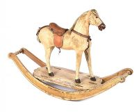 GEORGIAN ROCKING HORSE at Ross's Auctions