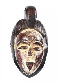 VINTAGE GABON WEST AFRICAN MASK at Ross's Auctions
