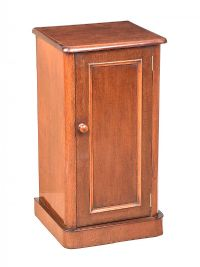 VICTORIAN MAHOGANY BEDSIDE PEDESTAL at Ross's Auctions