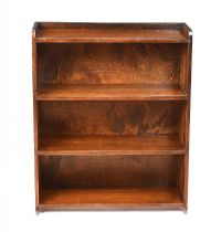 MAHOGANY OPEN BOOKCASE at Ross's Auctions