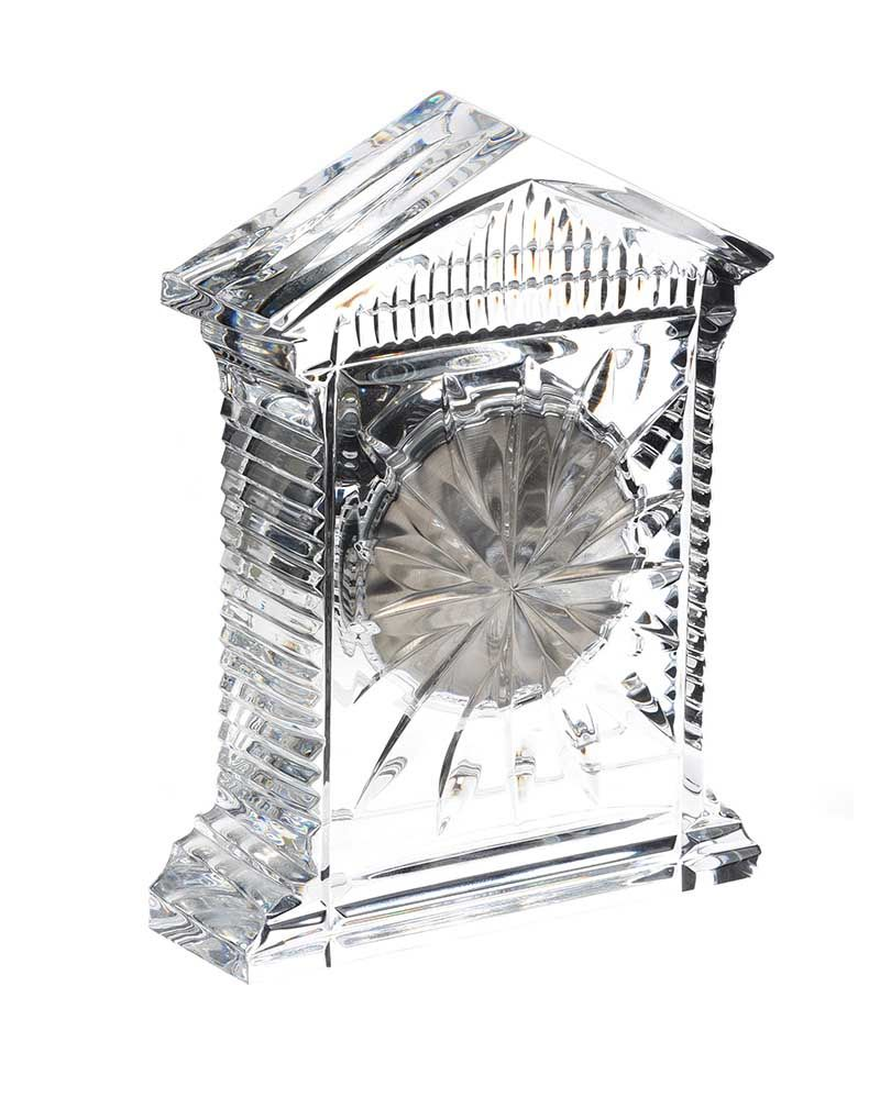 WATERFORD CRYSTAL CLOCK at Ross's Online Art Auctions
