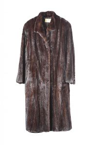 RANCH MINK DARK FUR COAT at Ross's Auctions