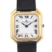 BAUME AND MERCIER 18CT GOLD WRIST WATCH at Ross's Jewellery Auctions