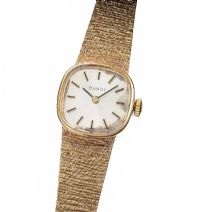 VINTAGE TISSOT 9CT GOLD LADY'S WRIST WATCH at Ross's Jewellery Auctions