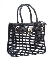 TOMMY HILFIGER WOVEN LEATHER HANDBAG at Ross's Jewellery Auctions