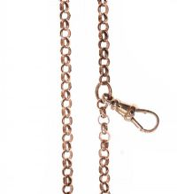9CT ROSE GOLD BELCHER CHAIN at Ross's Jewellery Auctions