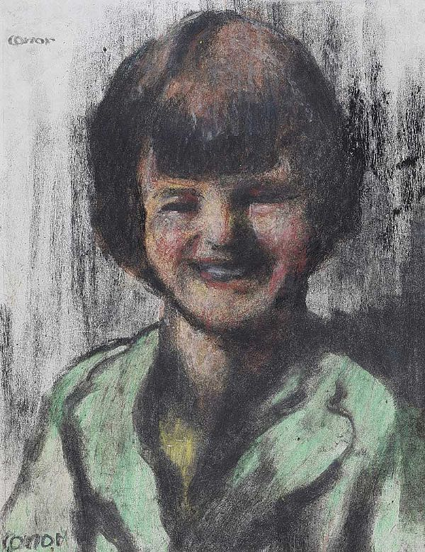 SADIE by William Conor RHA RUA at Ross's Online Art Auctions