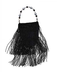 BLACK BEADED EVENING HANDBAG at Ross's Jewellery Auctions
