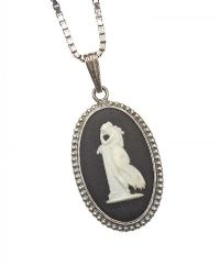 SILVER WEDGEWOOD NECKLACE at Ross's Jewellery Auctions