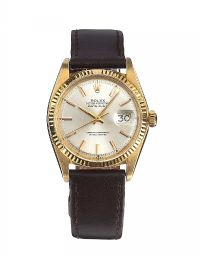 ROLEX DATEJUST 18CT GOLD WRIST WATCH at Ross's Jewellery Auctions