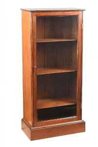 ANTIQUE MAHOGANY SINGLE DOOR BOOKCASE at Ross's Auctions