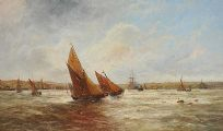 OFF THE IRISH COAST by Edwin Hayes RHA RI ROI at Ross's Auctions