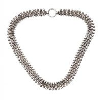 ANTIQUE SILVER COLLAR CIRCA 1880 at Ross's Jewellery Auctions