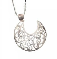 STERLING SILVER NECKLACE at Ross's Jewellery Auctions