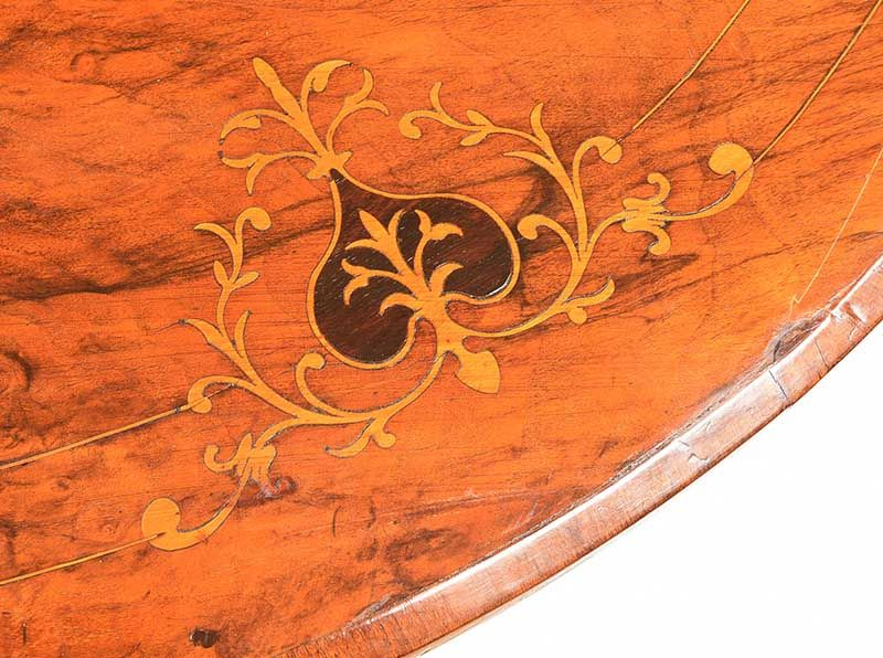 VICTORIAN WALNUT COFFEE TABLE at Ross's Online Art Auctions