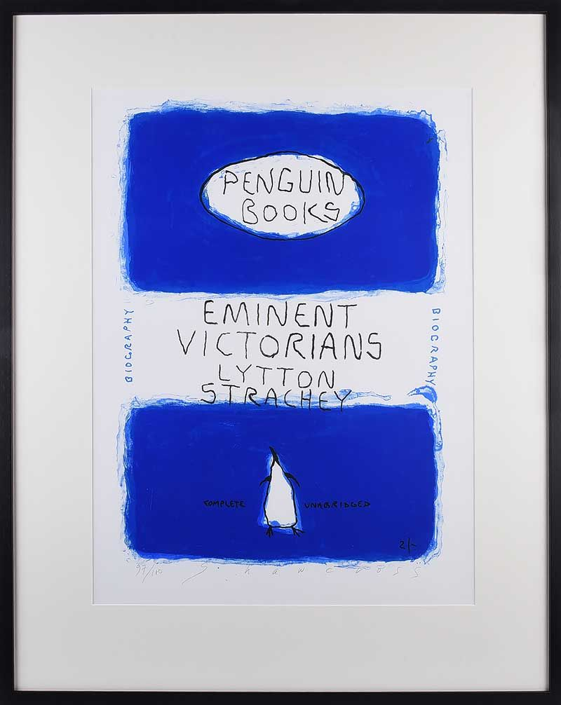 EMINENT VICTORIANS BY LYTTON STRACHEY, PENGUIN BOOK SERIES by Neil Shawcross RHA RUA at Ross's Online Art Auctions