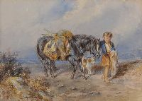 HEADING HOME by John Frederick Taylor at Ross's Online Art Auctions