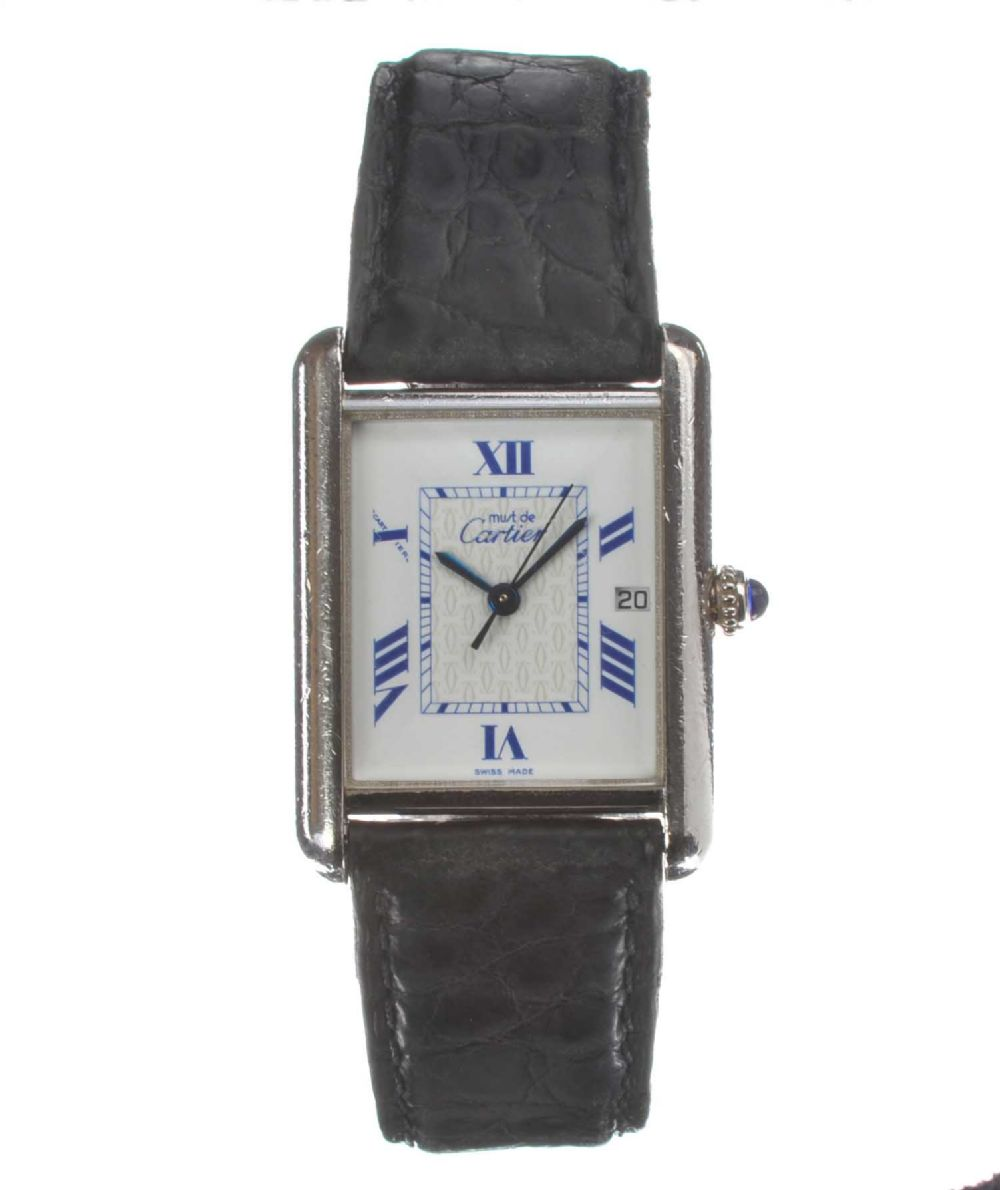 must de cartier 39 lady 39 s wrist watch. Black Bedroom Furniture Sets. Home Design Ideas