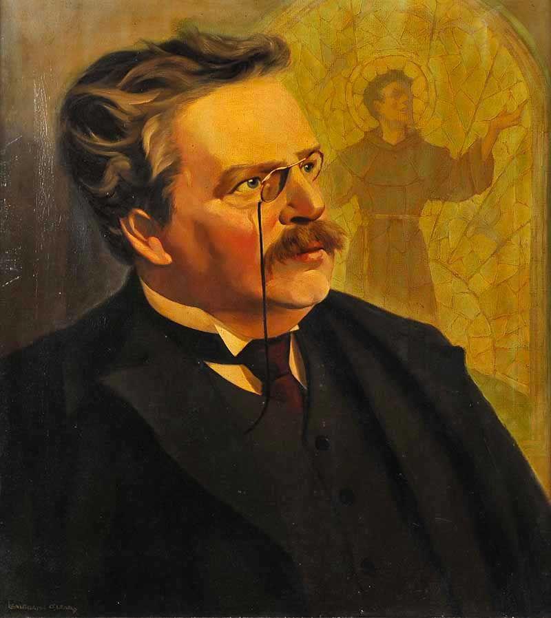 Resultado de imagen para Gilbert Keith Chesterton