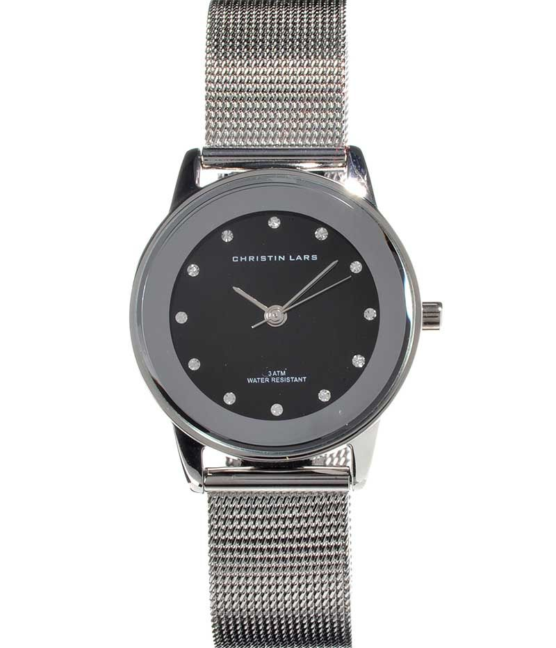 CHRISTIN LARS STAINLESS STEEL LADY'S WRIST WATCH