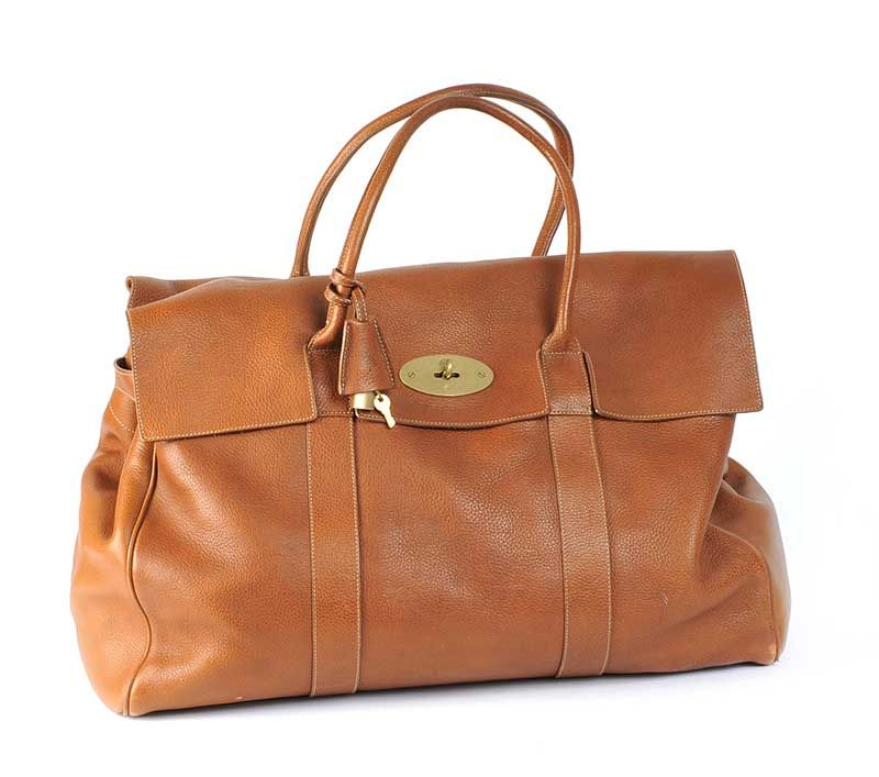 1f8af61fc0 MULBERRY 'PICCADILLY' LARGE TRAVEL BAG at Ross's Online Art Auctions ...