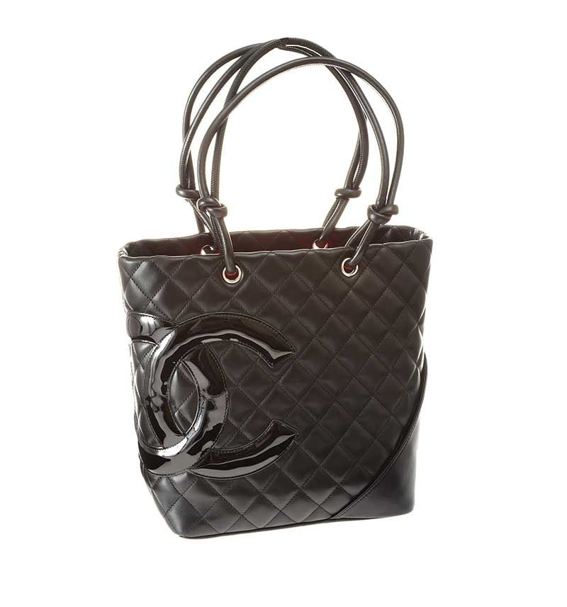 e5b82375e CHANEL QUILTED BLACK LEATHER BUCKET BAG at Ross's Online Art Auctions ...