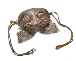 WW1 TANK CREW SPLATTER MASK - SOLD £750